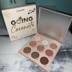 Going Coconuts Colourpop Eyeshadow Palette